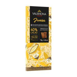 Valrhona JIVARA 40% Milk Chocolate Tasting Bar