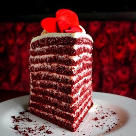 20 Layer Red Velvet Cake