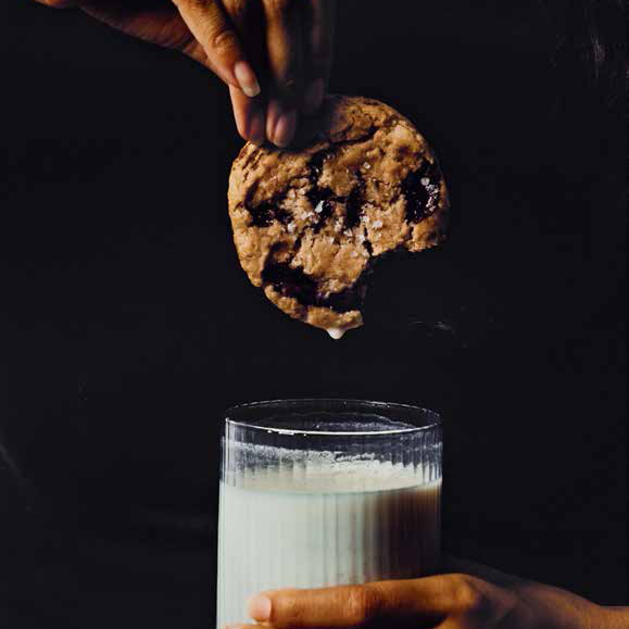 WILLA JEAN CHOCOLATE CHIP COOKIES WITH VANILLA MILK