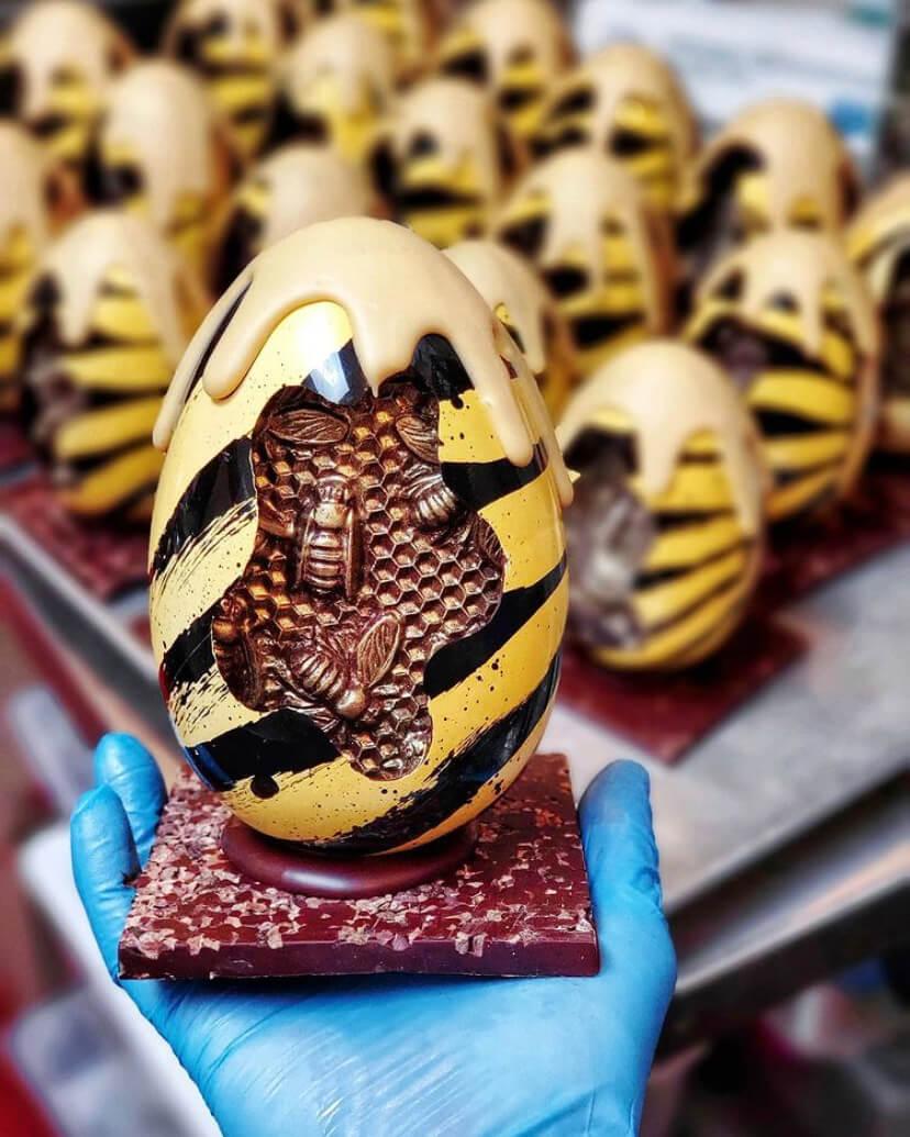 Bee-Hive Eggs @DavidHChow