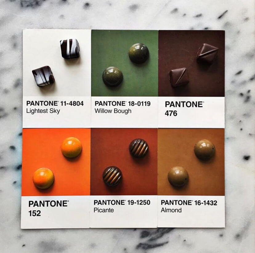 Kollar Chocolates Bonbon Pantone