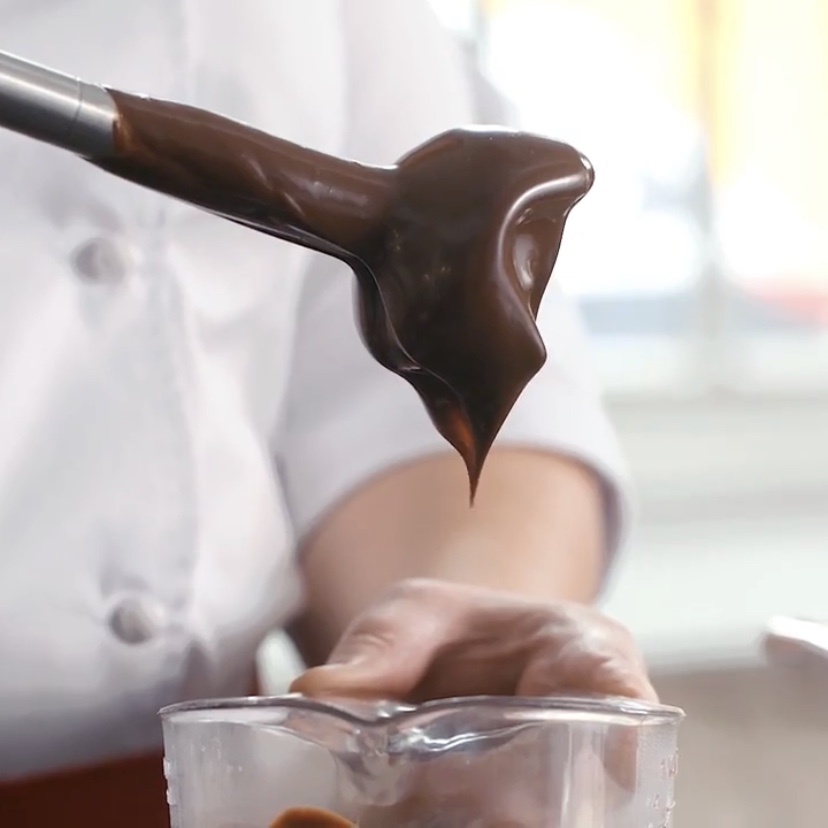 Chocolate Emulsion Video