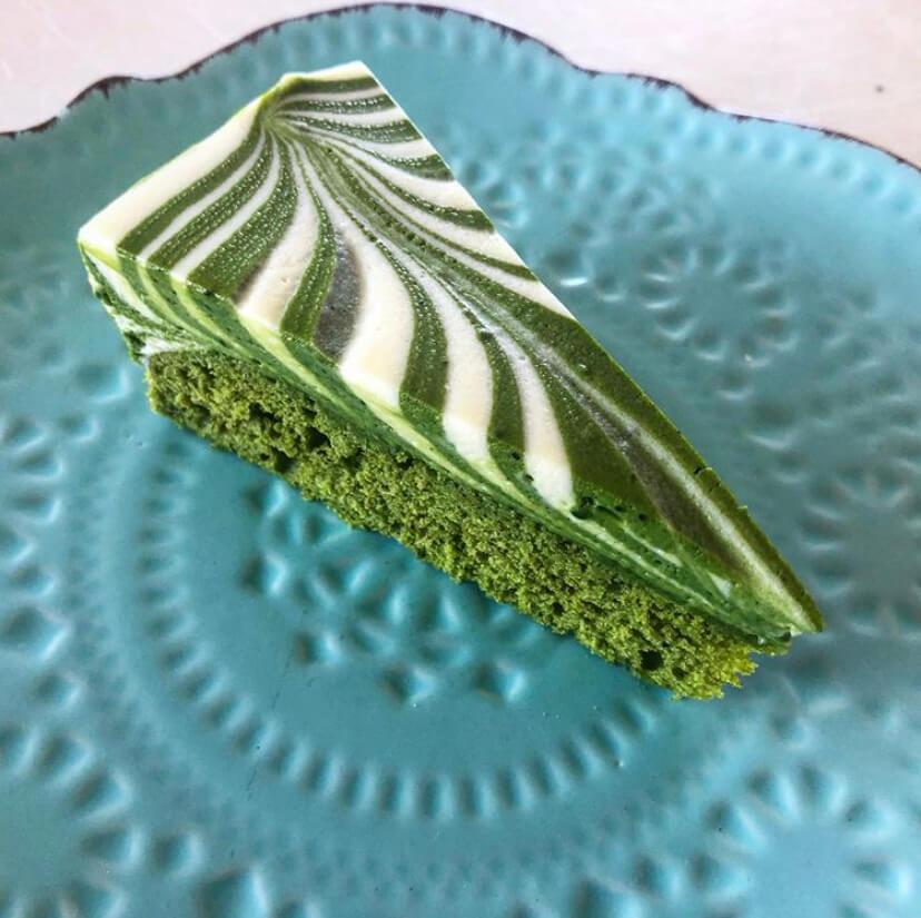 Jason Licker Matcha Mousse Cake