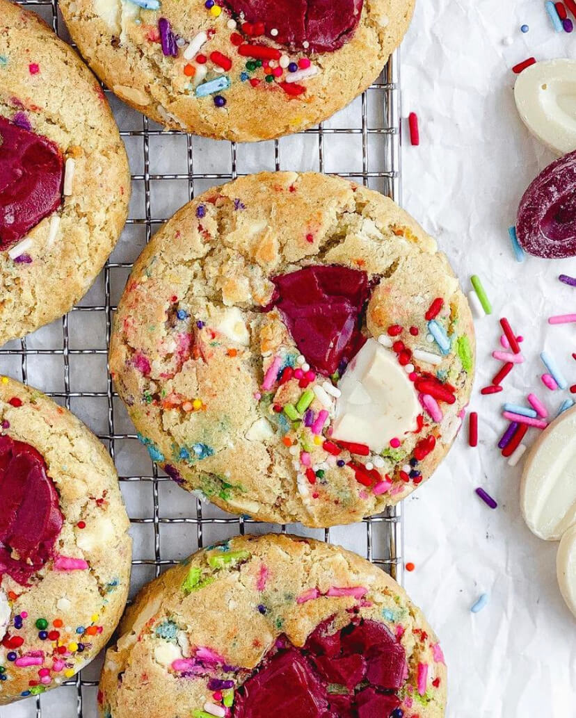 @austrianwithwuff Gluten-Free Funfetti Cookies