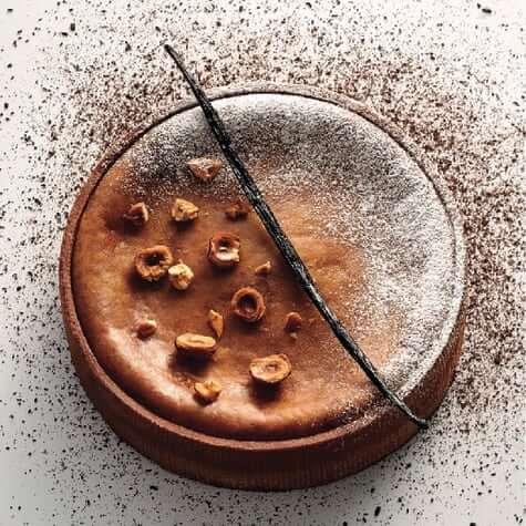 Praline and Vanilla Custard tart