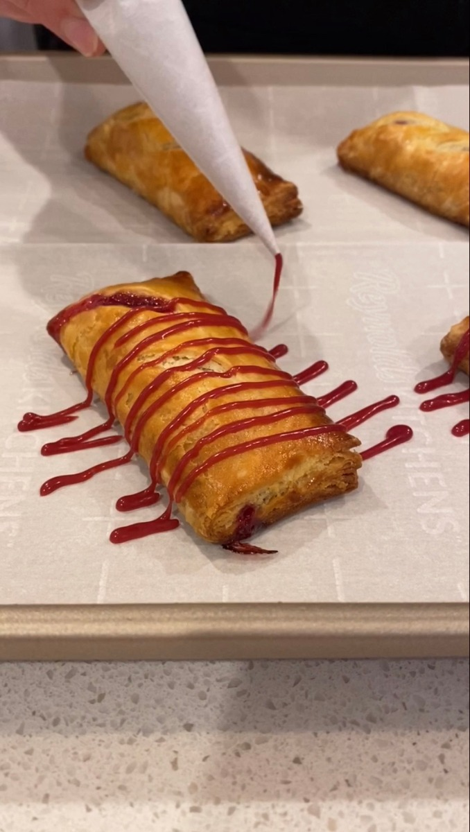 Cranberry Raspberry Hand Pies