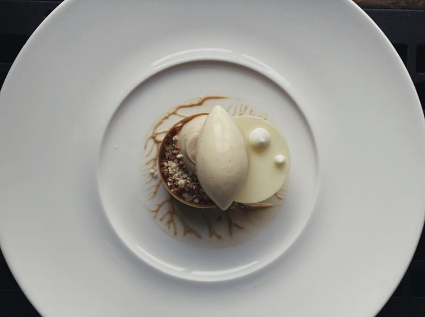 Affogato Plated Dessert