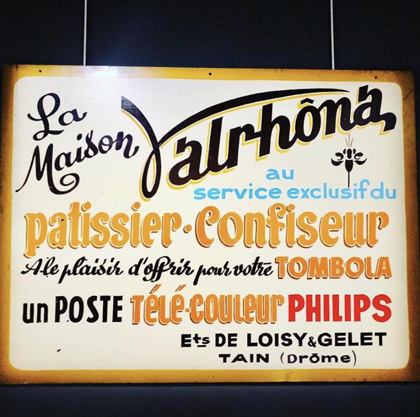 Throwback Thursday Vintage Valrhona