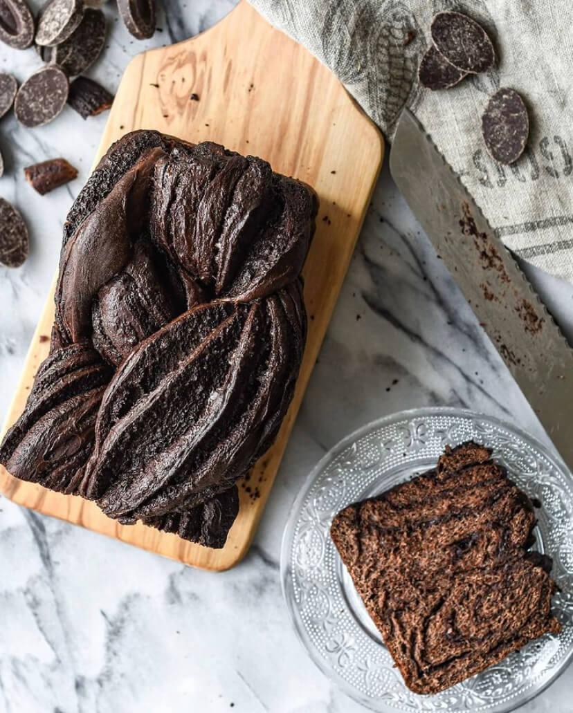 @buttermilkbysam Chocolate Babka