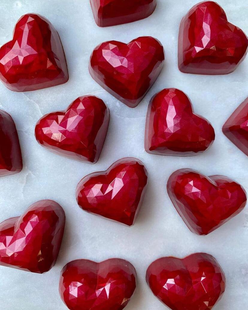 Valentine's Cercle V Heart Bonbons