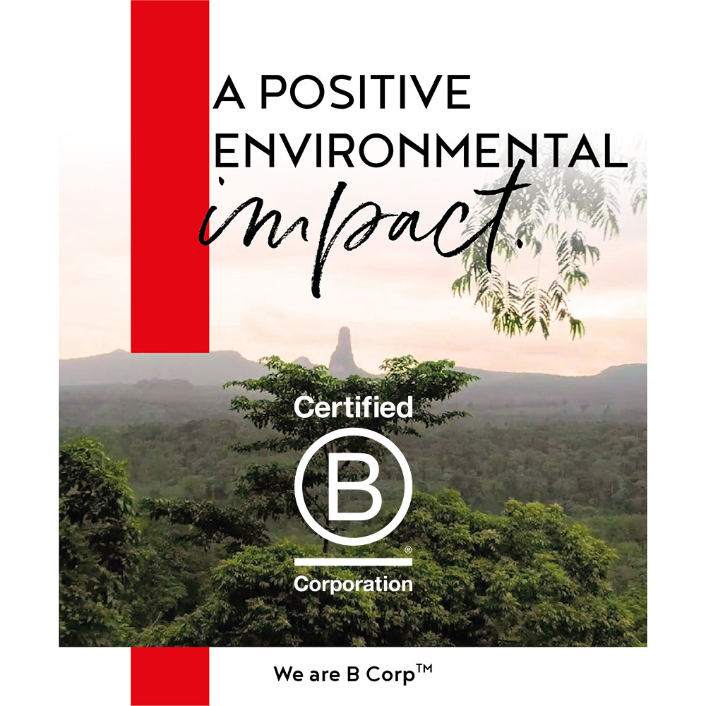 B Corp Announcement Post #5 - A Positive Environmental Impact