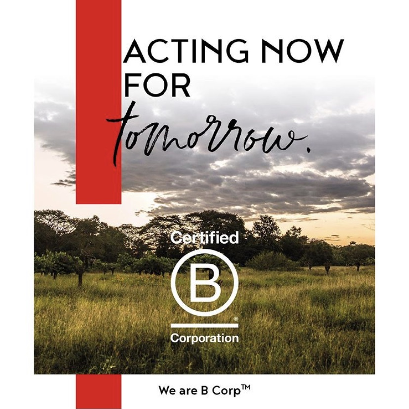 B Corp Announcement - Post #1