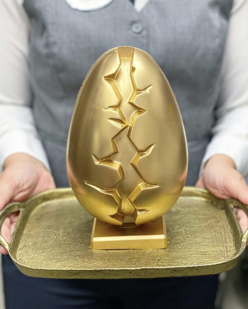 Jason Morale Golden Chocolate Egg