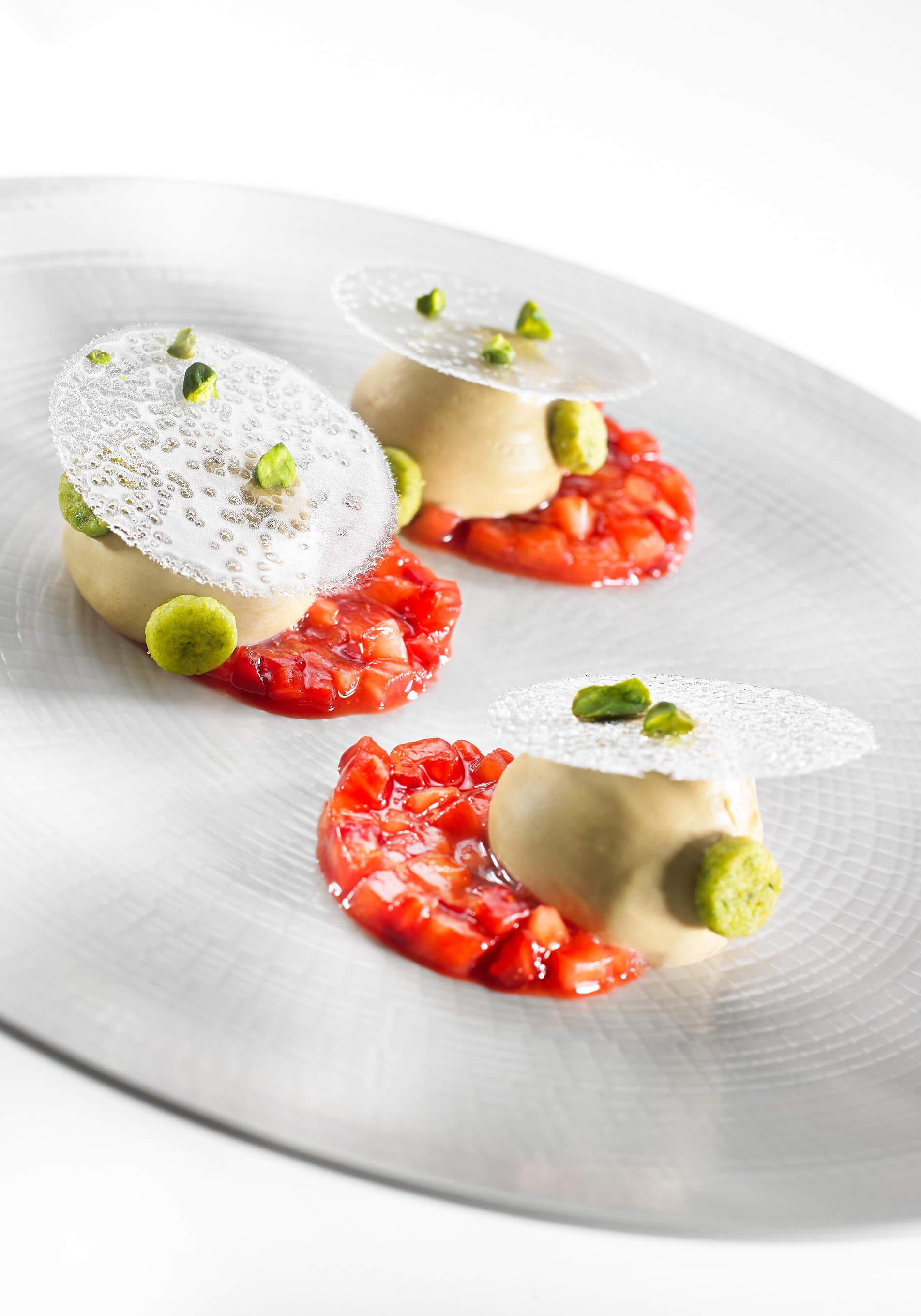 Pistachio Praliné Dessert Post