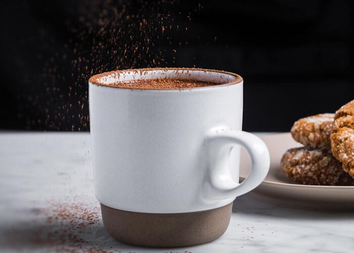 Valrhona Dark Hot Chocolate
