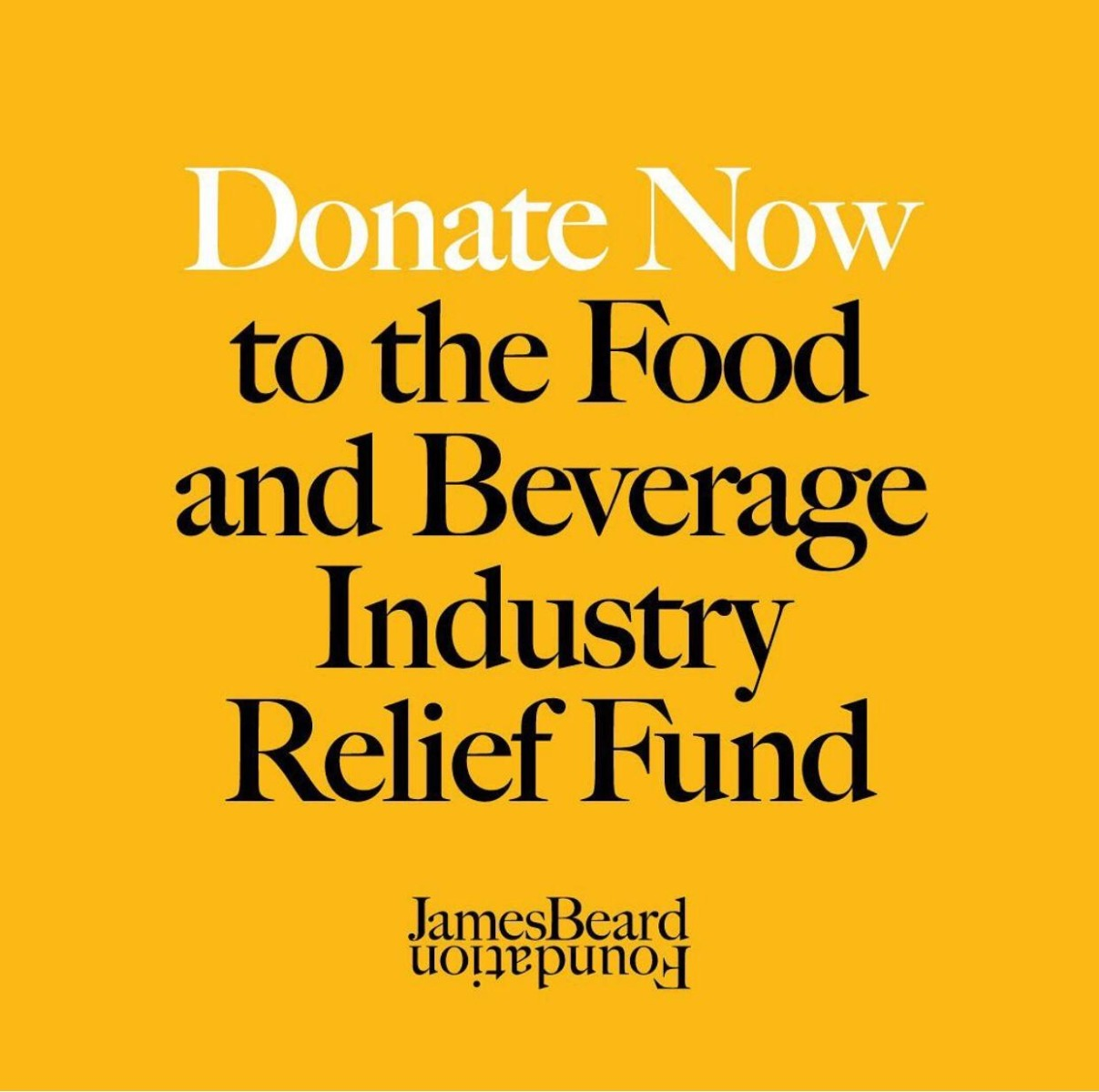 JBF Food and Beverage Industry Relief Fund