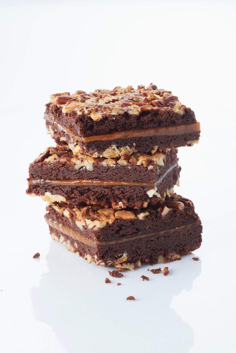 Caramel Brownie Recipe from Simple Recipe Book Volume 1