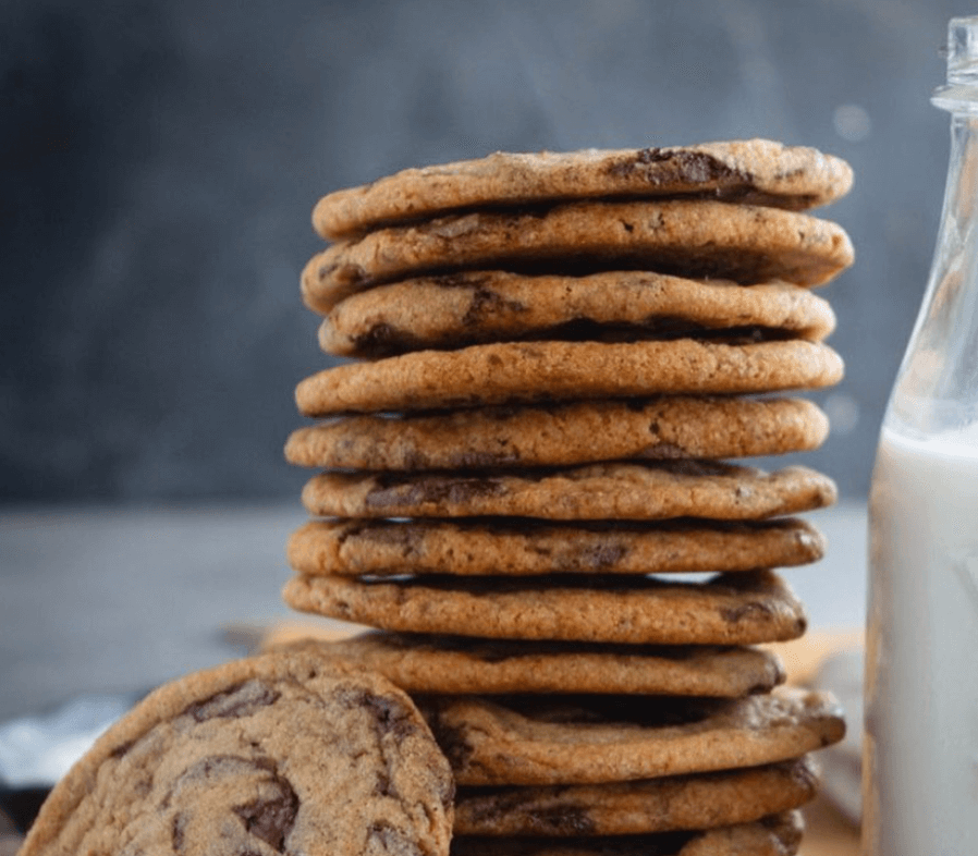 Milk and Cardamom Chocolate Chip Cookies