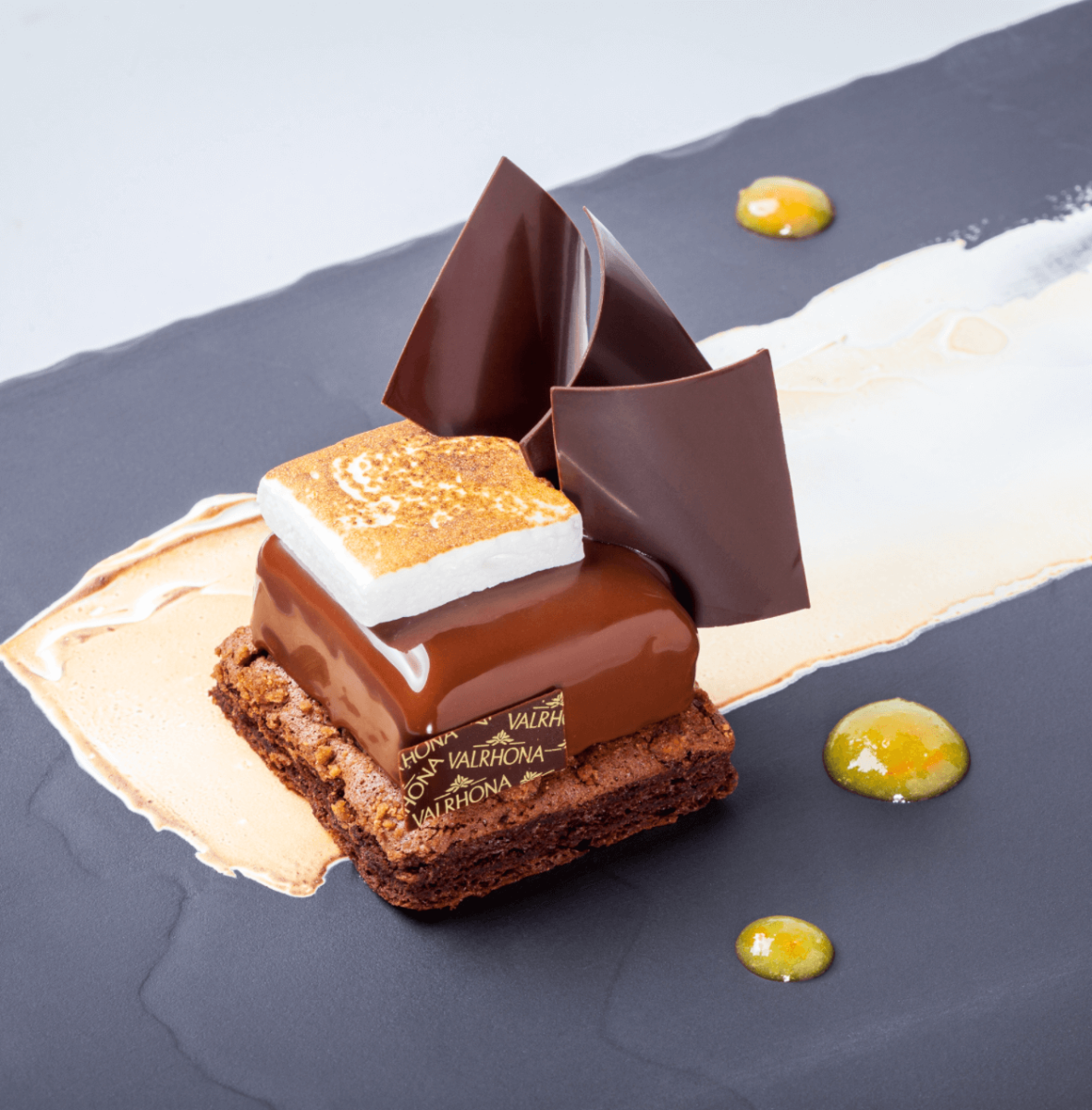 S'mores Plated Dessert