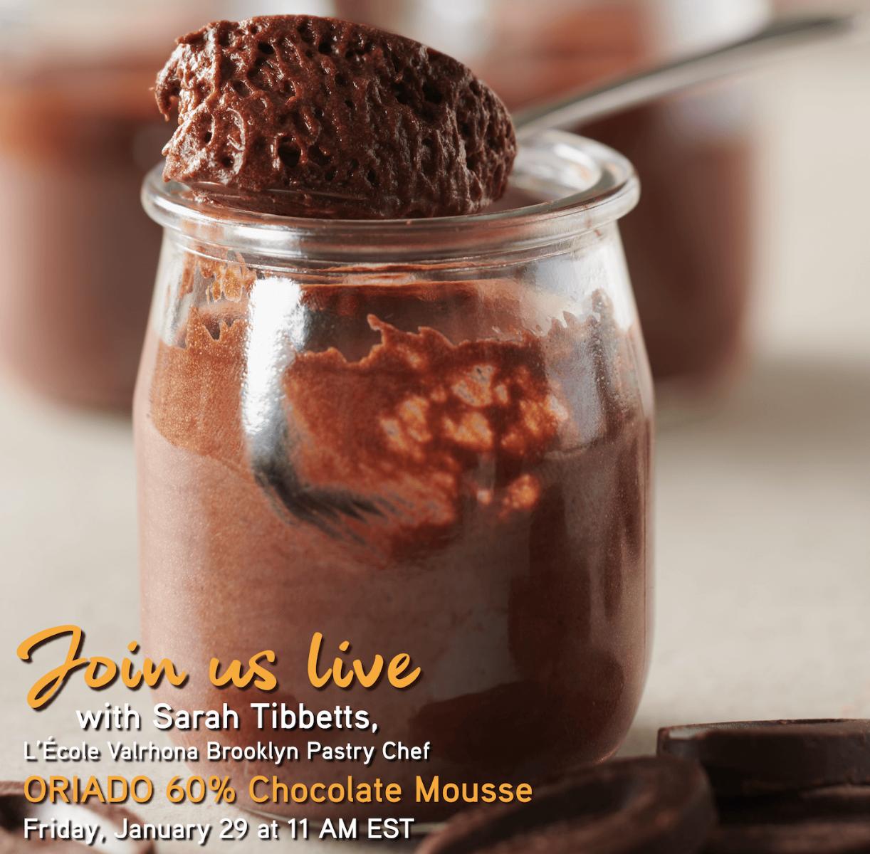 Announcing IG Live: ORIADO Mousse from The Essentials