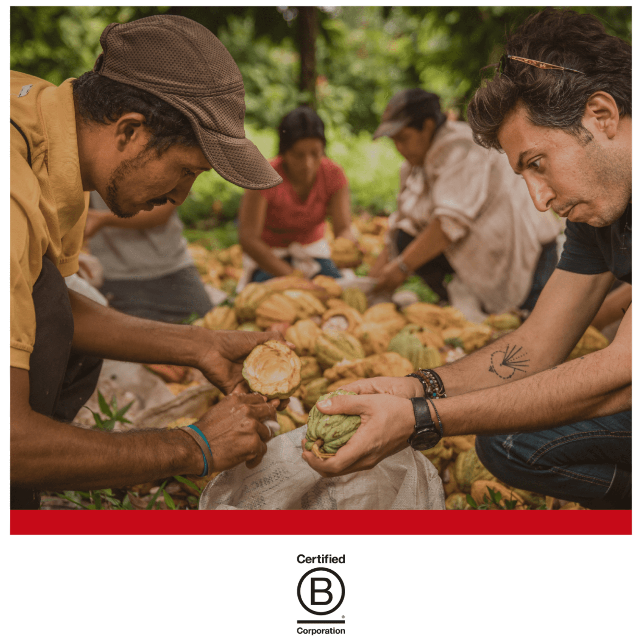 B the Change: Ethical Sourcing