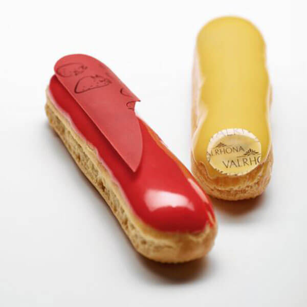 STRAWBERRY & PASSION FRUIT ÉCLAIRS