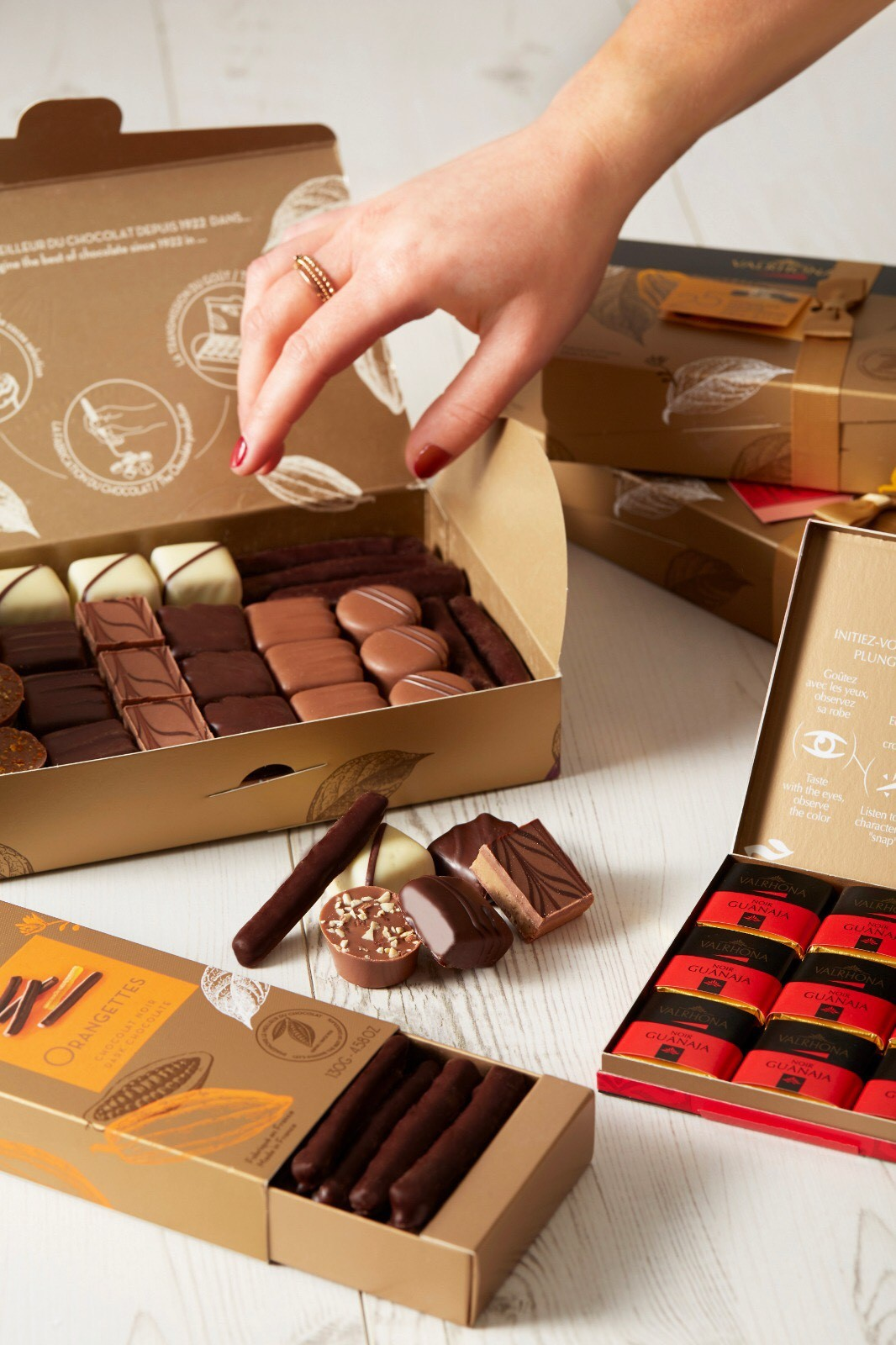 Valrhona Chocolate Holiday Gift Boxes Sale