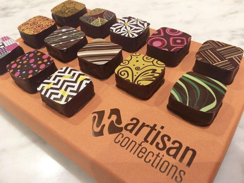 Valrhona Chocolate Bonbons Artisan Confections