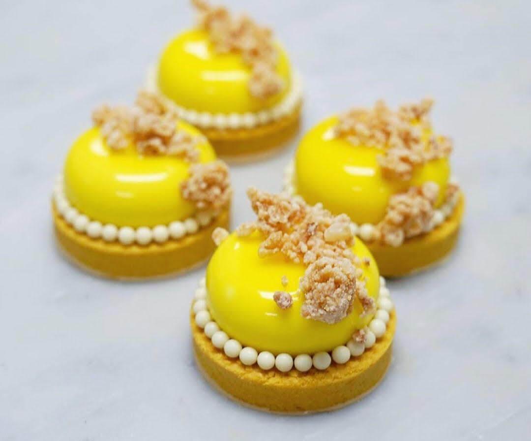 White Chocolate Lemon Cream Mousse Tart