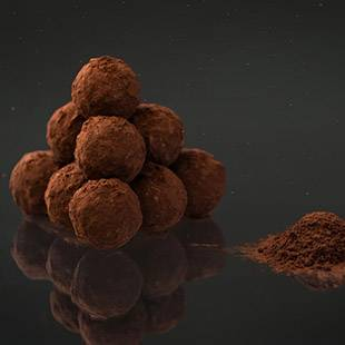 Bourbon Whiskey Truffles