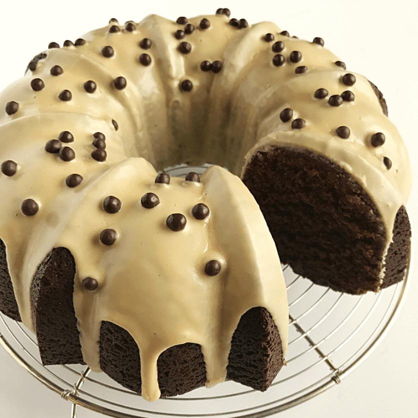 Gluten-Free GUANAJA Chocolate Cake