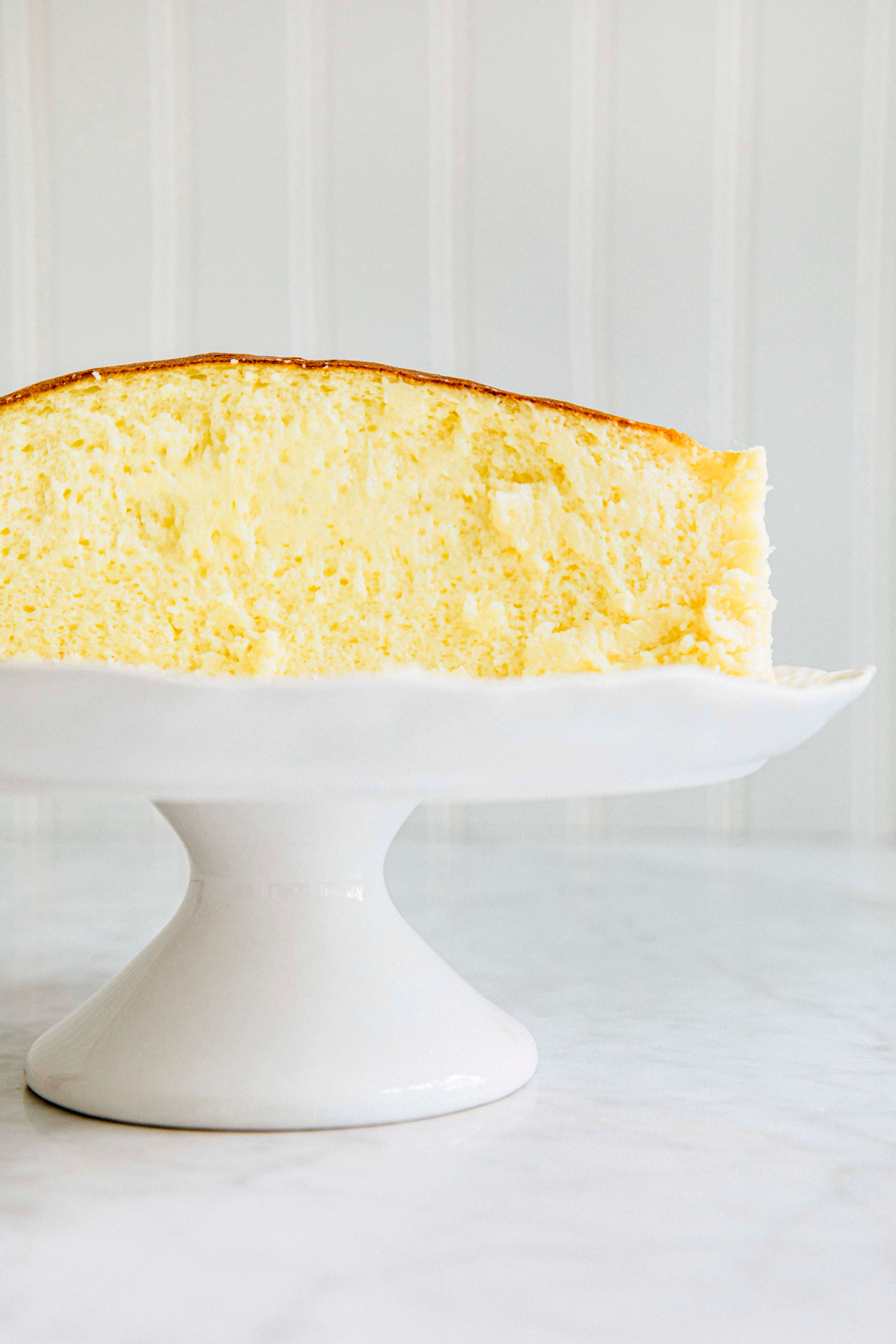Yuzu Soufflé Cheesecake